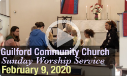 Guilford Church Service - 2/09/2020