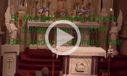 Mass from Sunday, June 30, 2019