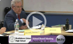 Brattleboro Union High School Board Mtg. 12/16/13