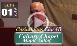 Calvary Chapel: Corinthians Chp 1B