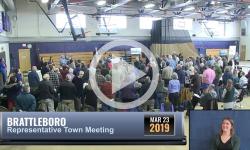 Brattleboro Rep. Town Mtg 3/23/19