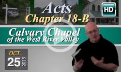 Calvary Chapel: October 25, 2015