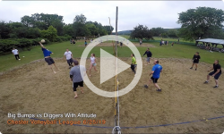 Chester Volleyball League: Big Bumps vs Diggers with Attitude 6/25/19