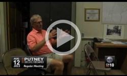 Putney Selectboard Mtg 8/12/15