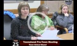 Townshend Pre-Town Meeting 2/25/14