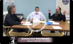 Dummerston Selectboard Mtg 2/4/15