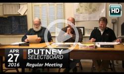 Putney Selectboard 4/27/16