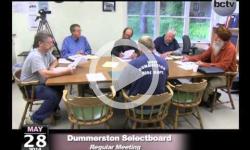 Dummerston Selectboard Mtg. 5/28/14