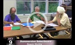 Dummerston Selectboard Mtg. 7/9/14