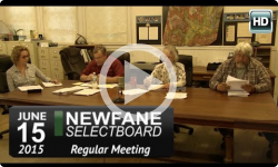Newfane Selectboard Mtg 6/15/15