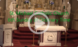 Mass from Sunday, February 16, 2020