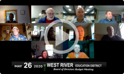 West River Education District: WRED Budget Info Mtg 5/26/20