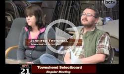 Townshend Selectboard Mtg 4/21/14