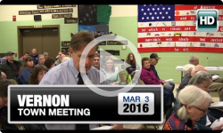 2016 Vernon Town Meeting Part 2: 3/2/16