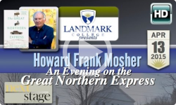 Landmark College presents: Howard Frank Mosher - 4/13/15