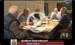 Guilford Selectboard Mtg. 2/10/14