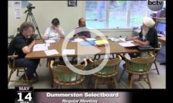Dummerston SB Mtg. 5/14/14
