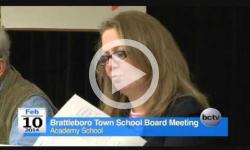 Brattleboro Town School Bd. Mtg. 2/10/14