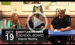 Brattleboro Town School Bd Mtg 10/19/16