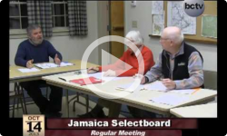 Jamaica Selectboard Mtg. 10/14/13