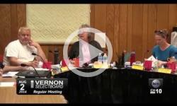 Vernon Selectboard Mtg 8/2/16