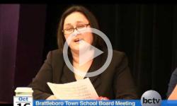 Brattleboro Town School Board Mtg. 10/16/13