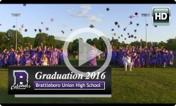 2016 Brattleboro Union High School Graduation