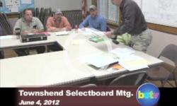 Townshend Selectboard Mtg.: 6/4/2012