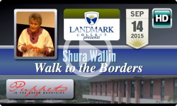 Landmark College Presents: Shura Wallin, 'Walk to the Borders ' 9/14/15