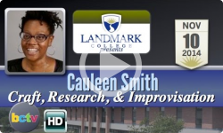 Landmark College presents: Cauleen Smith, 'Craft, Research, & Improv' 11/10/14