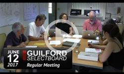 Guilford Selectboard Mtg 6/12/17