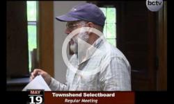 Townshend Selectboard Mtg. 5/19/14