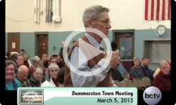 Dummerston Town Mtg. 3/23/13