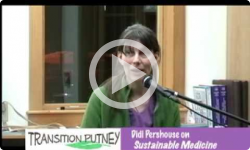 Transition Putney Didi Pershouse: Sustainable Medicine