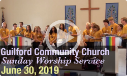 Guilford Church Service - 6/30/19