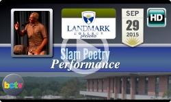 Landmark College presents Slam Poetry 9/29/15
