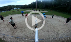 Chester Vermont Volleyball League: Kickass v. The setting Ducks 9/14/21