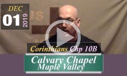 Calvary Chapel: Corinthians Chp 10B