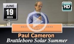 Brattleboro Citizens Breakfast: Brattleboro Solar Summer 6/19/15