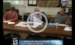 Newfane Selectboard Meeting 5/15/14