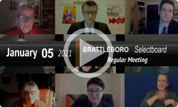 Brattleboro Selectboard: Brattleboro SB Mtg 1/5/21