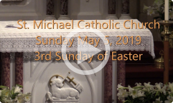 Mass from Sunday, May 5, 2019