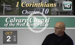 Calvary Chapel: 1 Corinthians, Chp 10