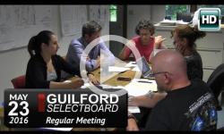 Guilford Selectboard Mtg 5/23/16