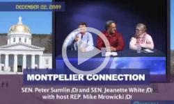 MontConn: 2/10/10 Webcast- Peter Shumlin, Jeanette White