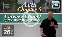 Calvary Chapel: April 26, 2015