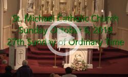 Mass from Sunday, October 6, 2019