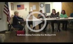Brattleboro Housing Partnerships Mtg. 6/13/16