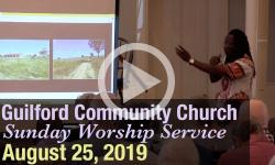 Guilford Church Service - 8/25/19