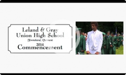 2014 Leland and Gray Graduation